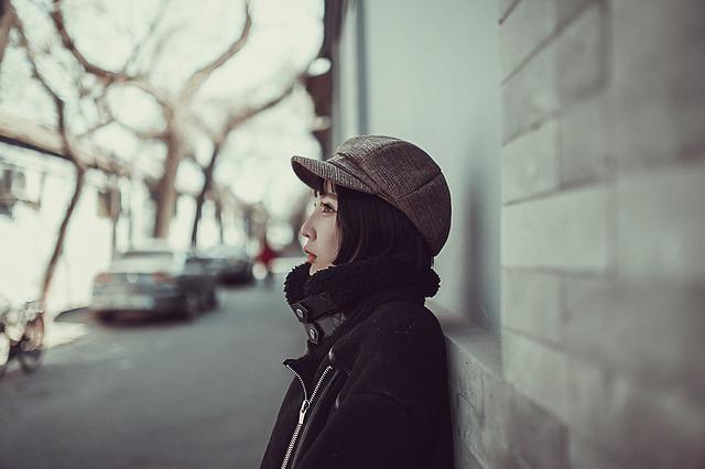dívka v Pekingu