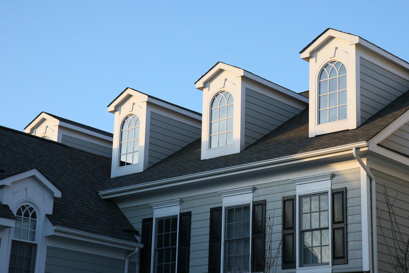 rodinný dom, okná