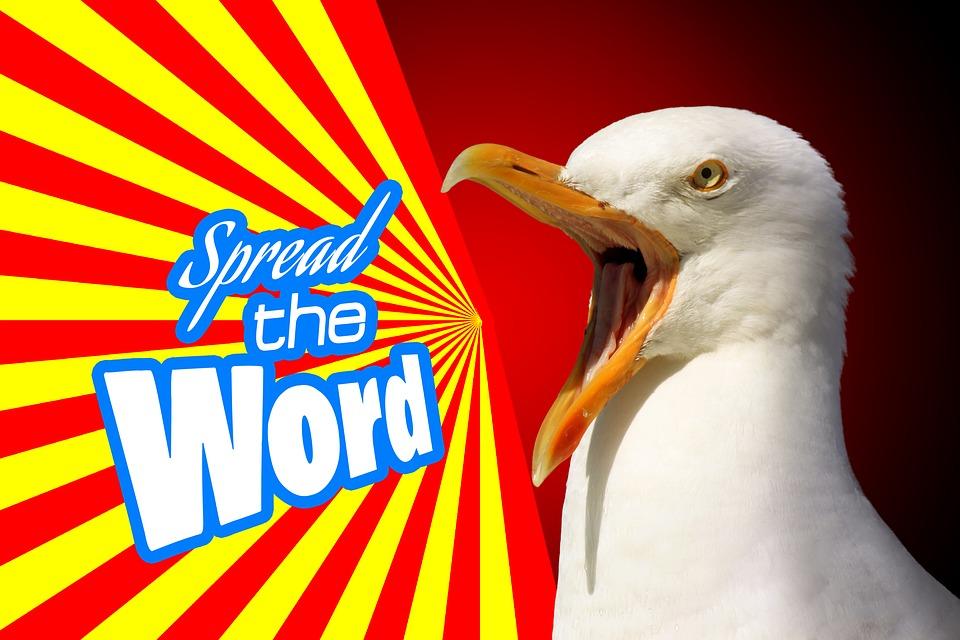 vták, oznámenie